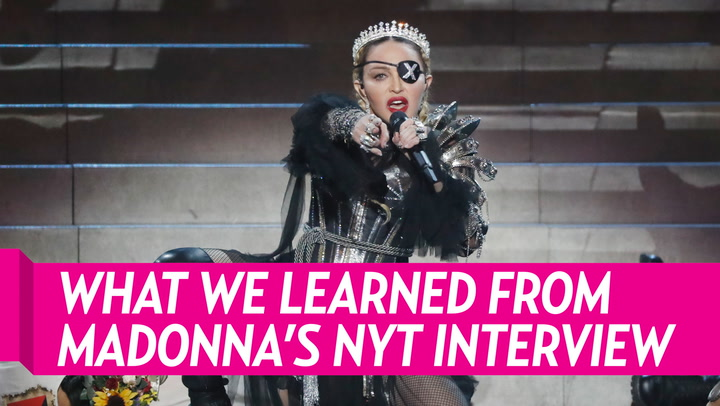 Madonna Slams 'New York Times Magazine' Over Ageism, 'Trivial' Details in Profile: I 'Feel Raped'