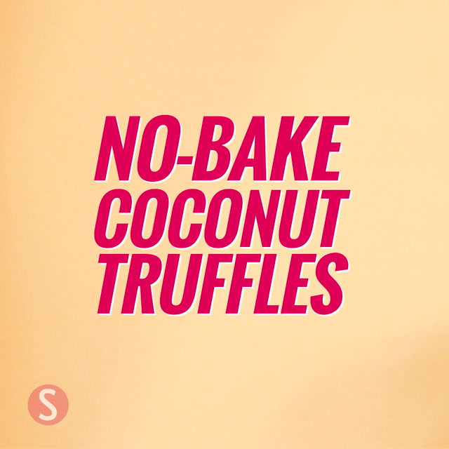 No-Bake (and Easy-to-Make) Coconut Truffles