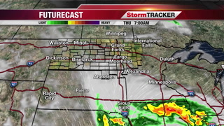 StormTRACKER Forecast Wednesday Overnight