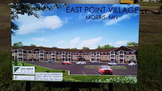 Groundbreaking for East Point Village in Morris