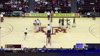 Larson leads Missouri in kills despite loss to Texas A&M