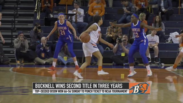 Coach Roussell leads Bucknell to second title in three years