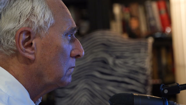 Roger Stone has a rule: 'Deny everything.' And he does.