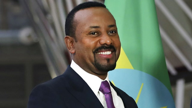 Nobel Peace Prize awarded to Ethiopian Prime Minister Abiy Ahmed
