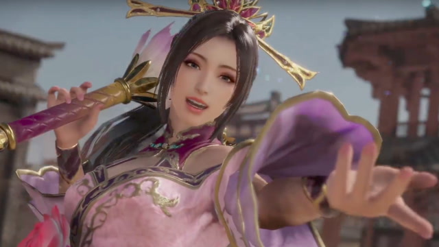 Dynasty Warriors 9 Official Diao Chan Character Highlight Trailer