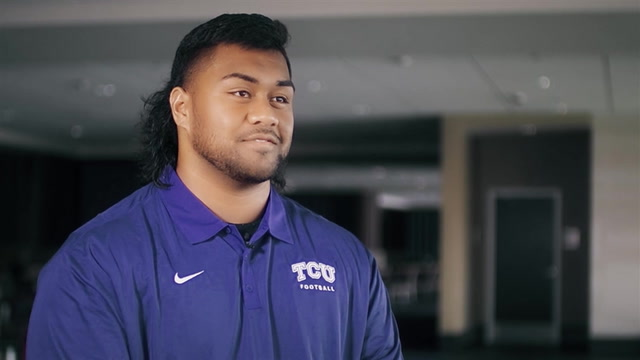 From Alaska to junior college in Cali, Ezra Tu'ua now in awe at TCU | JuCo Route