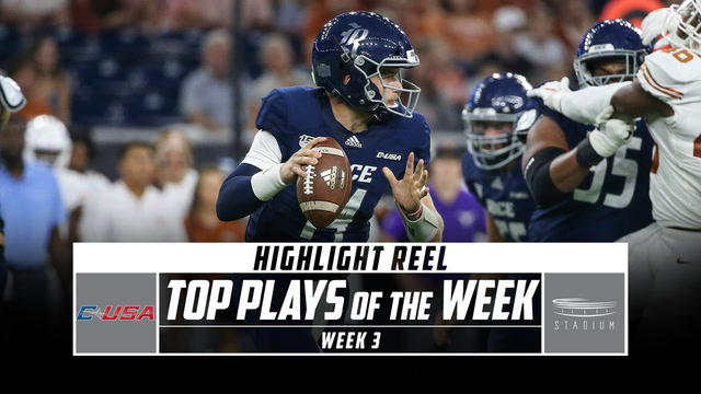 Top 5 Conference USA Plays of the Week: Week 3 (2019)