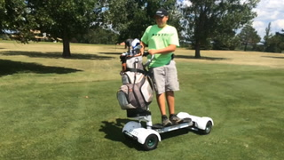 GolfBoards in use at Wild Oak Golf Course