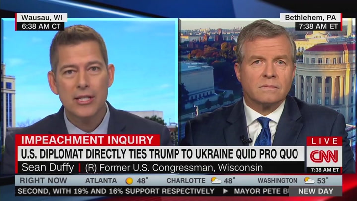 Sean Duffy Wrecked by CNN Colleague Charlie Dent: My Nose Is Not a Heat-Seeking Missile for Trump's Backside