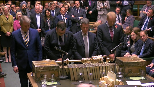 The moment Parliament voted to hold new elections Dec. 12