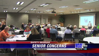 Senior Safety Seminar put on by Valley TRIAD