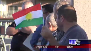 Kurdish Americans host rally to support those back home