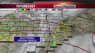 Snow showers late Wednesday