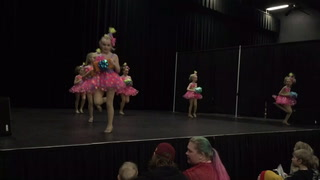 Little dancers entertain at the Cloquet Home Show