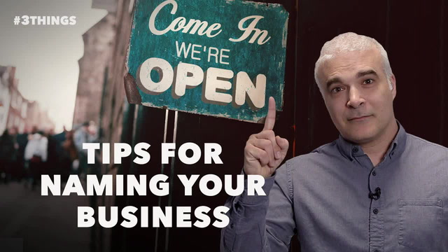 More Great Tips for Naming Your Business
