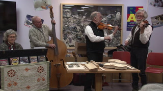 Arne Anderson has spent the majority of his life perfecting a musical craft. He studied violin building in Cremona, Italy. Michael Denny/Wadena Pioneer Journal