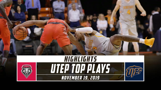 UTEP Basketball Top Plays vs. New Mexico (2019-20)