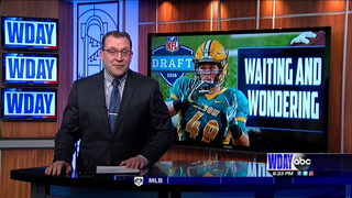 Former Bison Nick DeLuca hoping to hear name called at NFL Draft