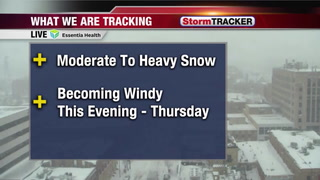 Tracking Heavy Snow This Afternoon