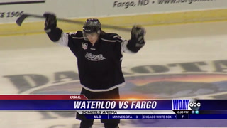 Waterloo shuts out Fargo