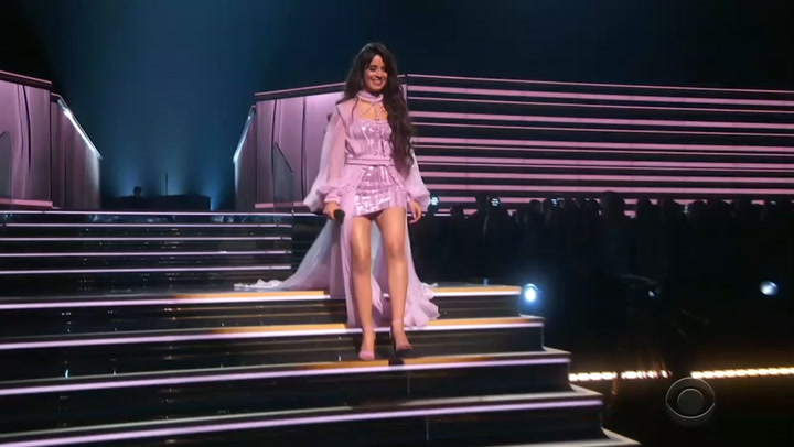 Camila Cabello Makes Dad Cry With 'First Man' Performance at Grammys