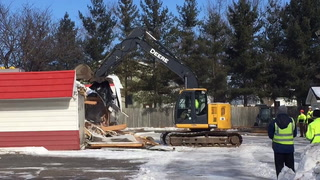 Dairy Queen building demo'd in New Richmond