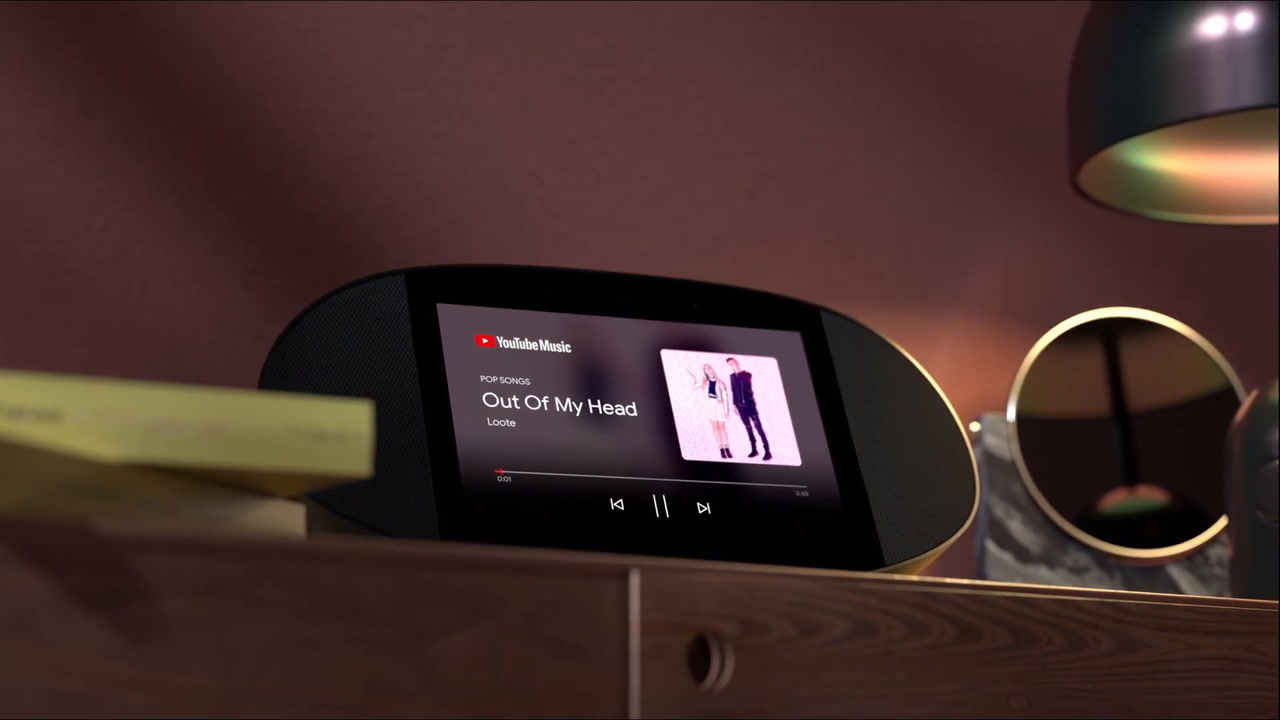 JBL Link View Voice-activated Speaker with Display