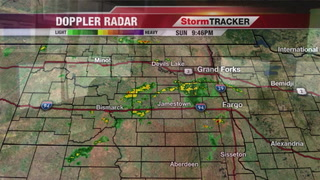 StormTRACKER Sunday Late Night Update