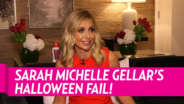Sarah Michelle Gellar Recalls Epic 'Buffy the Vampire Slayer' Halloween Fail: 'I Don't Think Anyone Wants That Costume'