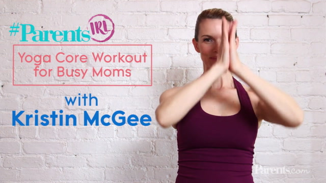 Yoga Core Workout for Busy Moms