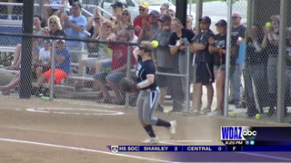 Thompson helps power Valley City to first East Region softball championship