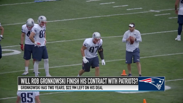 Will Rob Gronkowski Finish Current Contract?