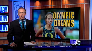 Laura Roesler prepares for Olympic Trials