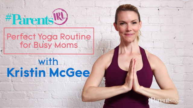 Perfect Yoga Routine for Busy Moms