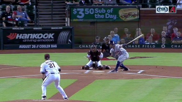 HIGHLIGHTS: Greinke strikes out 9 Astros in 6 2/3 shutout innings