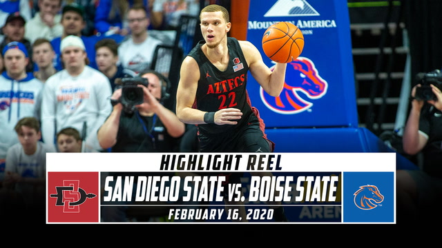 No. 4 San Diego State vs. Boise State  Basketball Highlights (2019-20)