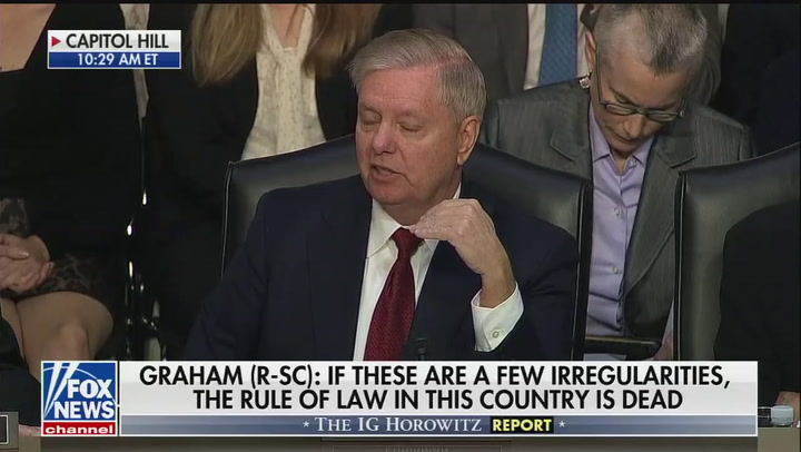 """Lindsey Graham: """"It wasn't the Ukrainians"""" who hacked the 2016 election"""