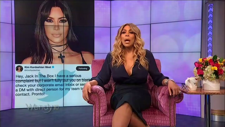 Wendy Williams Slams Kim Kardashian for Calling Out Jack in the Box: 'Who Does She Think She Is?'