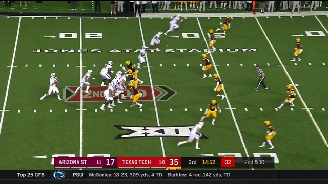 MUST WATCH: Circus Catch made by Dylan Cantrell for Texas Tech