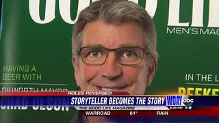 WDAY Kevin Wallevand appears on cover of local magazine