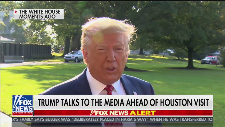 Trump: 'I'm Not Looking to Hurt Biden'
