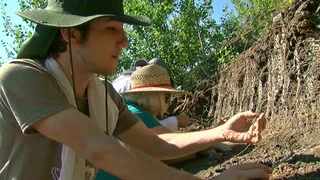 Digging up the past, Million year old fossils being uncovered at Pembina Gorge