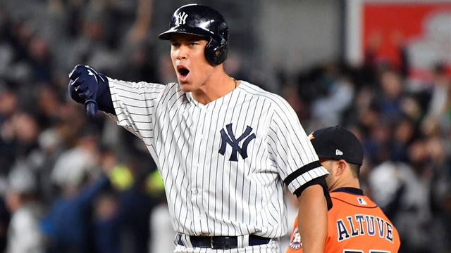 Yankees take the lead after 4-run rally in the 8th