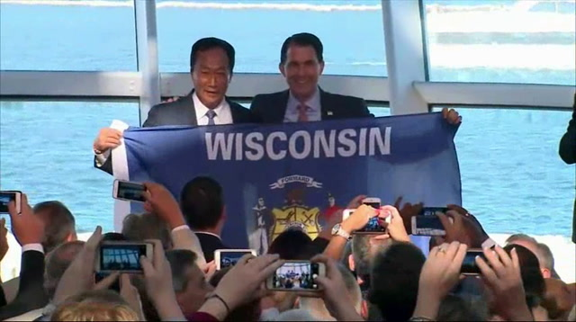 Governor Walker Welcomes Foxconn to Wisconsin
