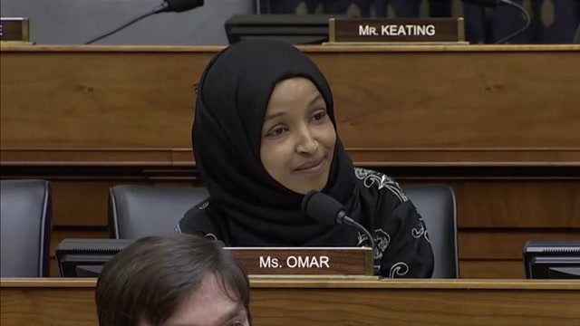 Watch the tense exchange between Rep. Ilhan Omar and Elliott Abrams during a hearing on Venezuela