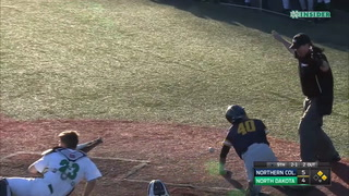 NCAA BASEBALL: UNC scores late to beat UND, NDSU knocks off ORU