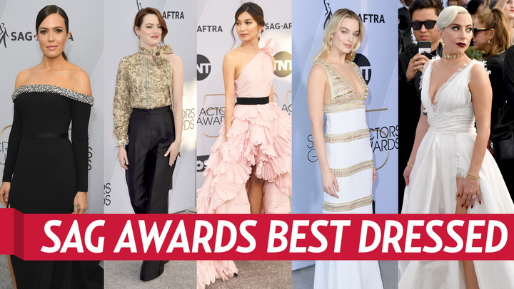 SAG Awards 2019: All the Details on Our Top Five Fashion Looks of the Night