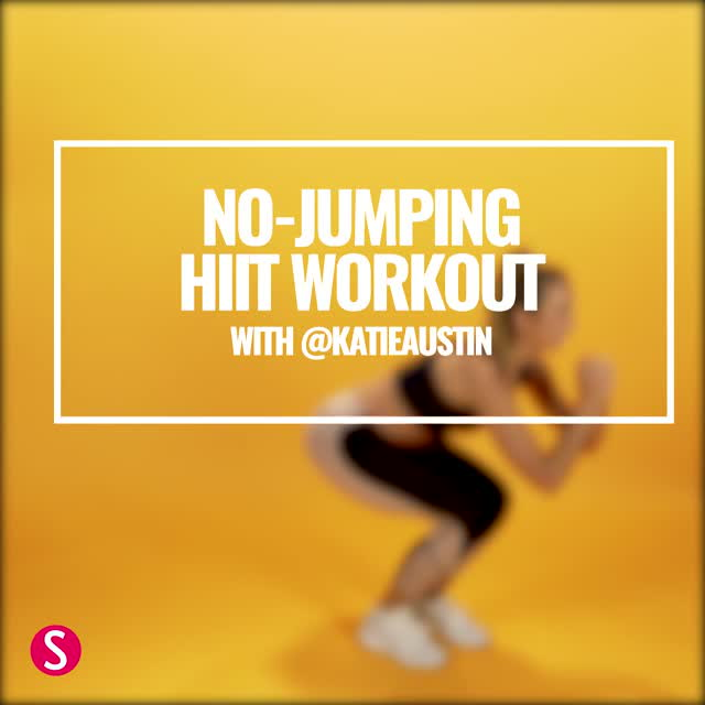 No-Jumping HIIT Workout with Katie Austin