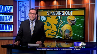 Bison hoping for big things from big target Engel