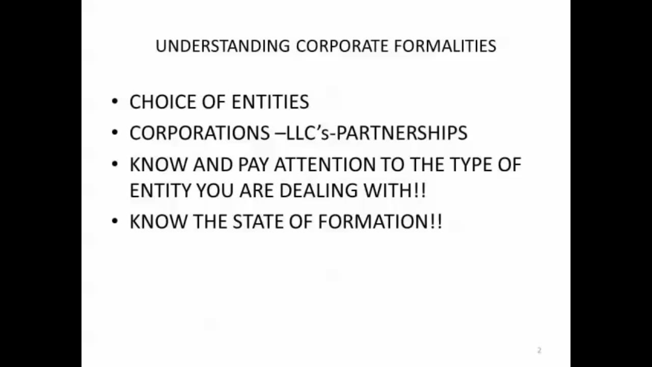 Corporate Recordkeeping for Paralegals - Understanding